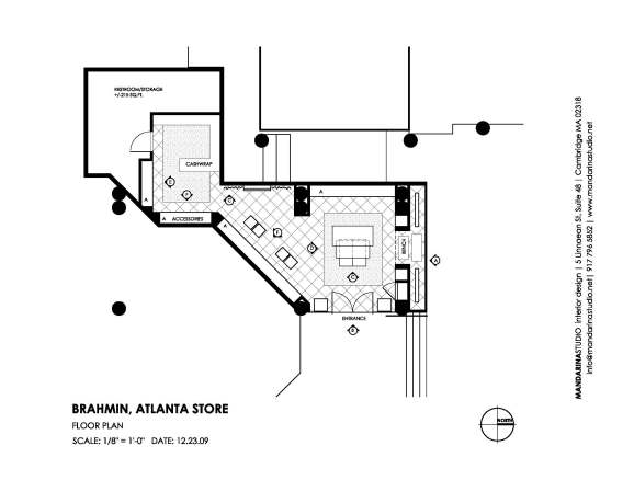 BRAHMIN Atlanta: Floor Plan | MANDARINA STUDIO interior design